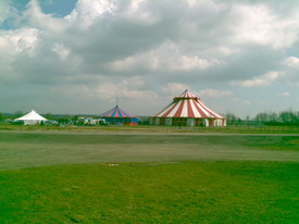 Big Top and Noisy Campsite
