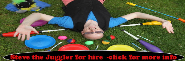 Steve the Juggler for Hire