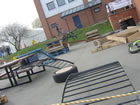 The Parkour/Unicycle Trials course!