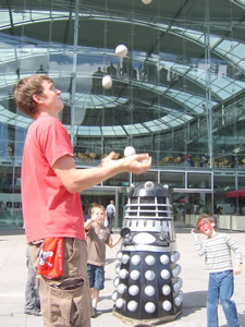 James Couper v the Dalek!