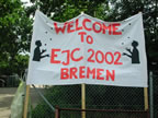 EJC 2002 welcome sign