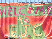 Welcome Sign for EJC 2006