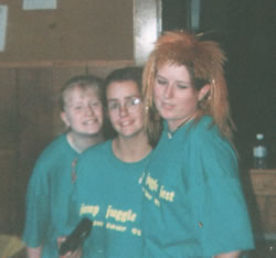 Keri, Gillian and Claire from the 1995 Production