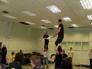 Club Acro-Balance game