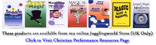 Christian Performance Resources from Jugglingworld (UK only)