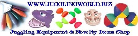 Click to Visit Jugglingworld UK Store