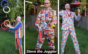 Steve the Juggler