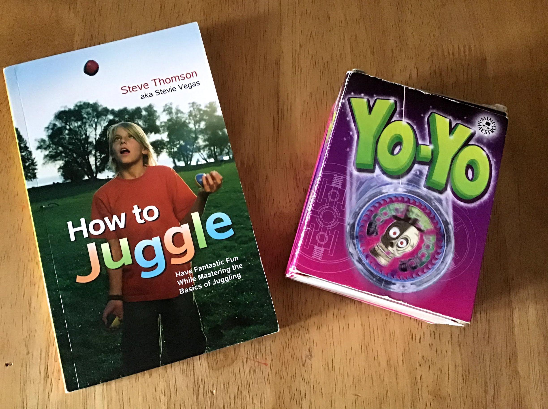 My 2 Books - how to juggle and yo-yo