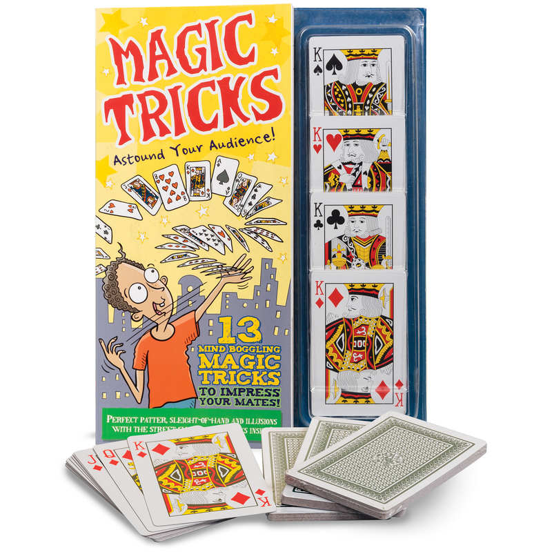 Magic Tricks (book with deck of cards)